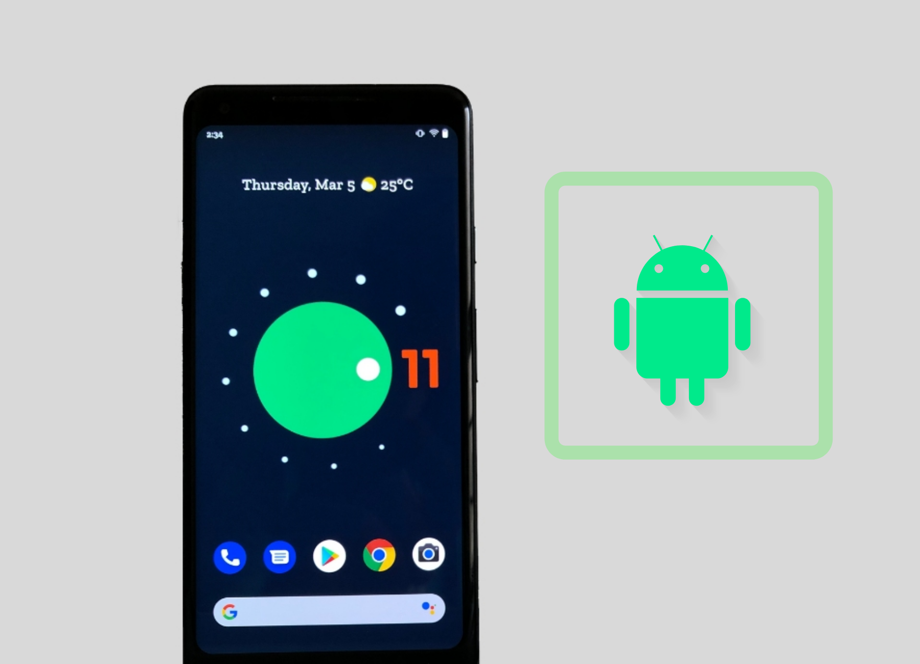 New Features for Android 11 with Developer Preview 3