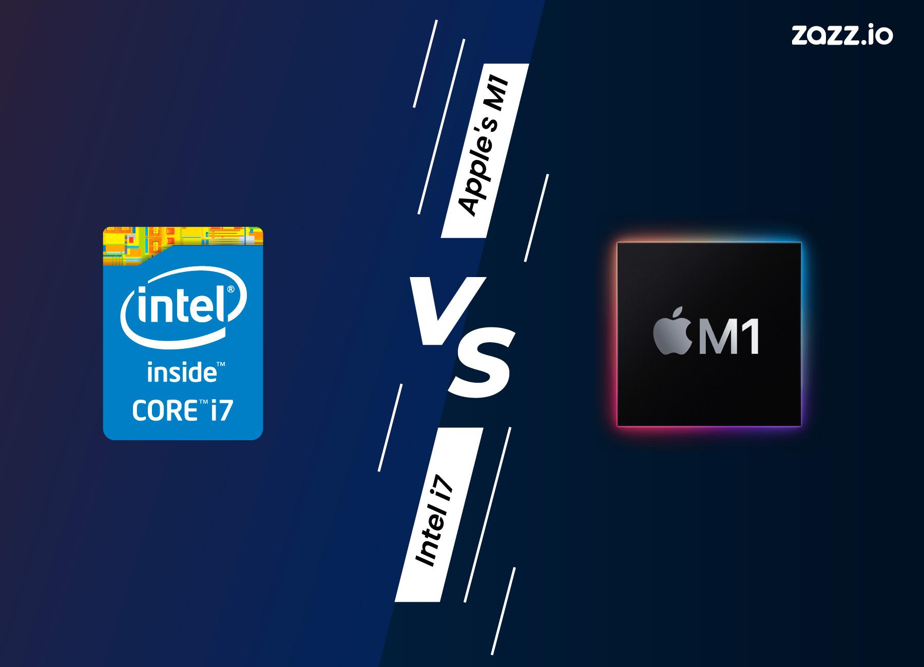 Apple M1 Chip Vs Intel i7